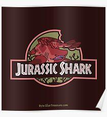 Jurassic Shark - MOOCH, the Orthacanthus Shark Poster