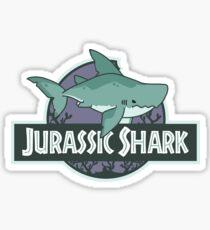 Jurassic Shark - MEGABYTE, the Megalodon Shark Sticker