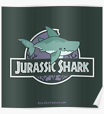 Jurassic Shark - MEGABYTE, the Megalodon Shark Poster