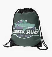 Jurassic Shark - MEGABYTE, the Megalodon Shark Drawstring Bag