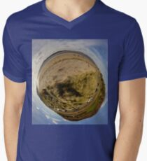 Lisfannon Beach, Fahan, County Donegal, Sky Out Men's V-Neck T-Shirt