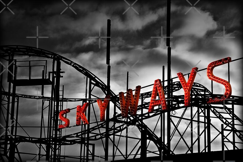 Skyways Coaster by Corbin Adler