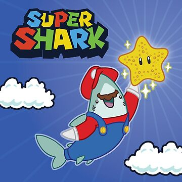 GamerShark - Byte Plays Super Shark Bros by bytesizetreas