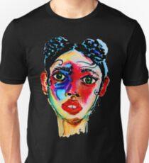 Painted Face Unisex T-Shirt