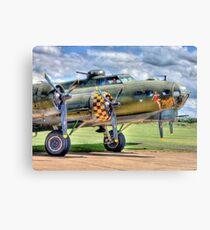 Sally B - A Flying Legend - HDR Canvas Print