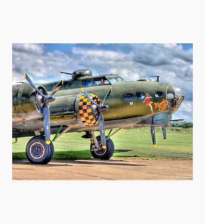Sally B - A Flying Legend - HDR Photographic Print