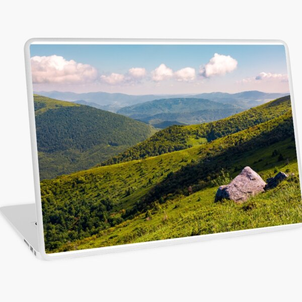 boulders on the hillside in high mountains Laptop Skin