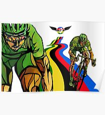 Sagan Cycling World Champion Poster