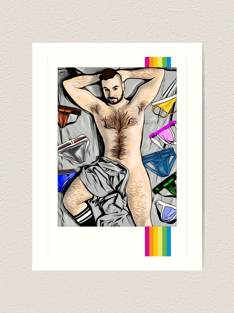 Alternate view of Jock Lover Art Print
