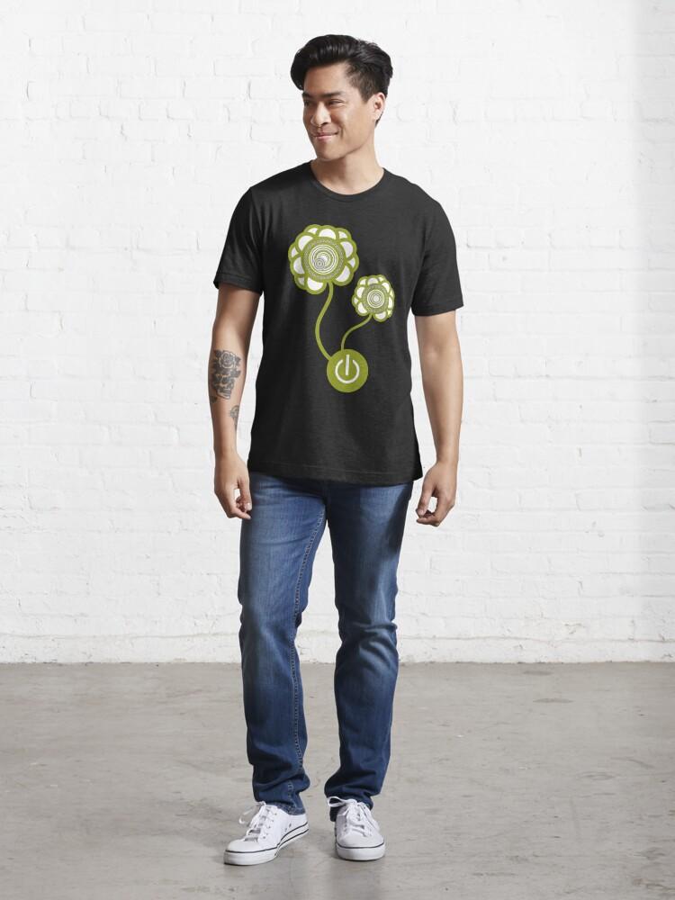 Alternate view of Flower Power Essential T-Shirt