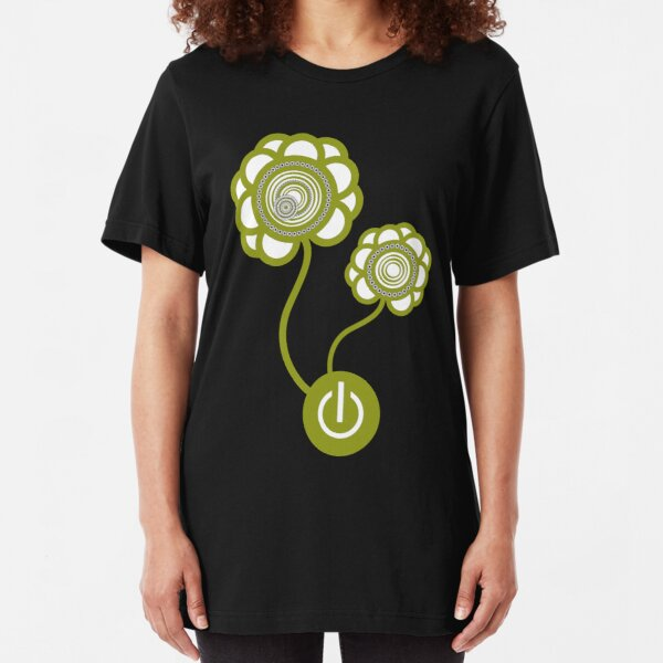 Flower Power Slim Fit T-Shirt