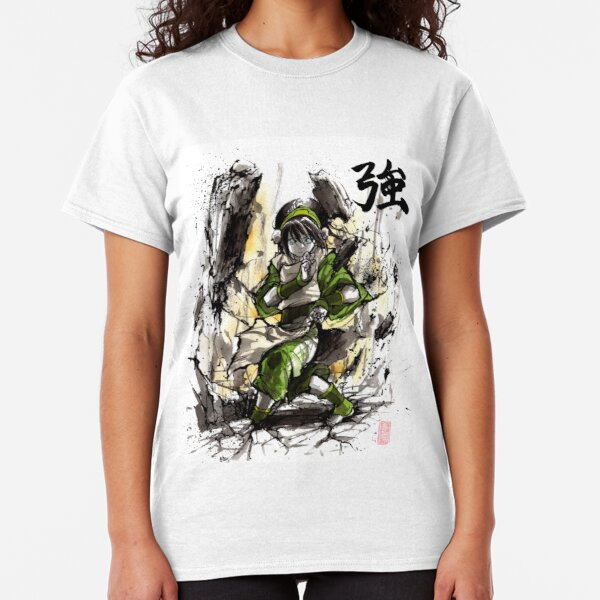 Toph from Avatar with sumi and watercolor Classic T-Shirt
