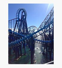 Rollercoaster Ride Photographic Print