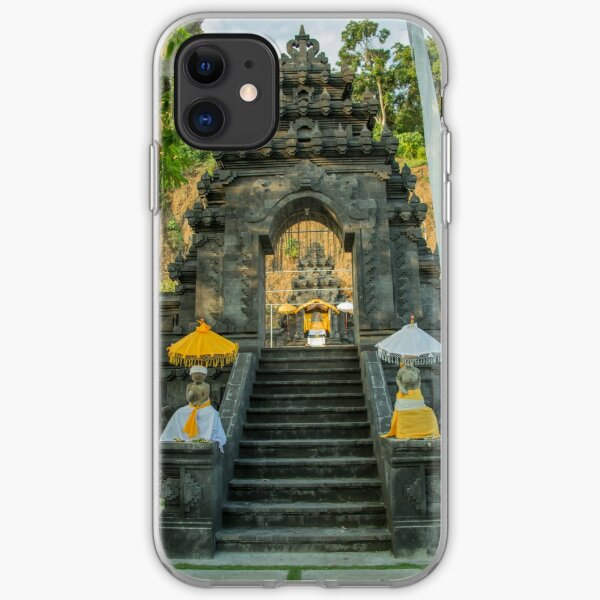 Temple - Candidasa - Bali iPhone Soft Case