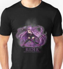 Rider - Bewitching Black Serpent Unisex T-Shirt