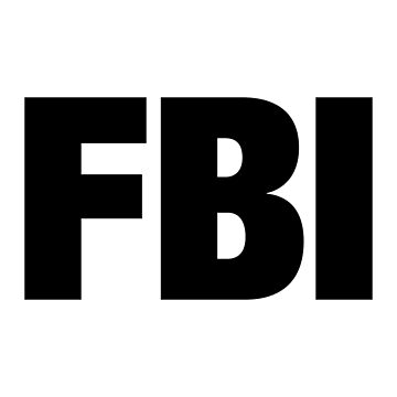 FBI - version 1 - black by Supreto