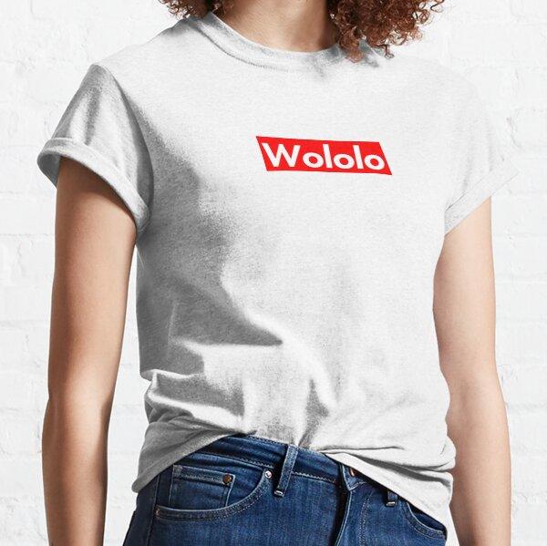 Wololo T-shirt classique