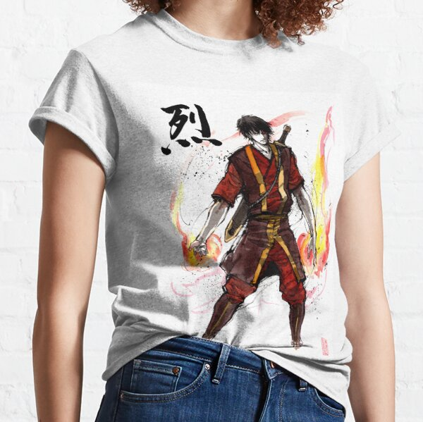 Zuko from Avatar with sumi ink and watercolor Classic T-Shirt