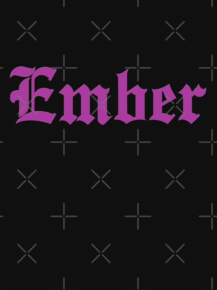 Ember Mclain Purple Classic T Shirt