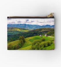 gorgeous countryside in Carpathian mountains Studio Pouch