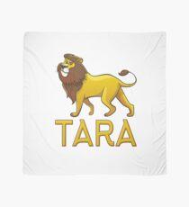 Tara Lion Drawstring Bags Scarf
