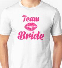 Team Braut Kuss Unisex T-Shirt