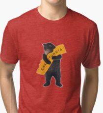 California Bear Hug Tri-blend T-Shirt