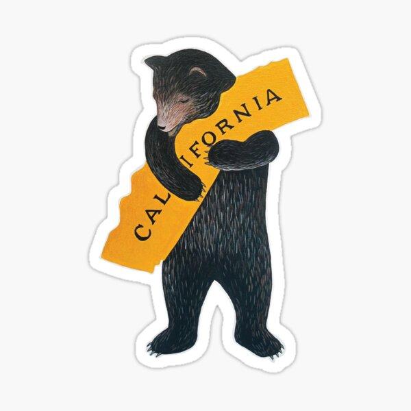 Kalifornische Bärenumarmung Sticker