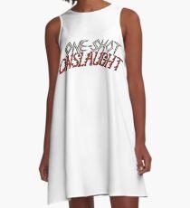 One-shot Onslaught Logo A-Line Dress