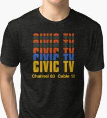 CIVIC TV - VIDEODROM Vintage T-Shirt