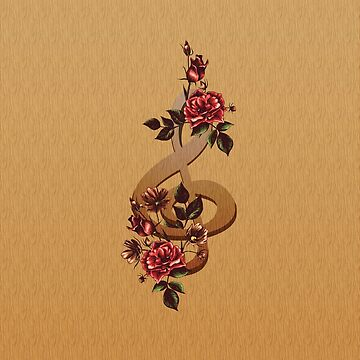 Music and Roses by GBCdesign