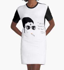 Trap Graphic T-Shirt Dress