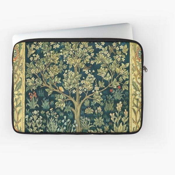 Tree of Life by William Morris Laptop Sleeve