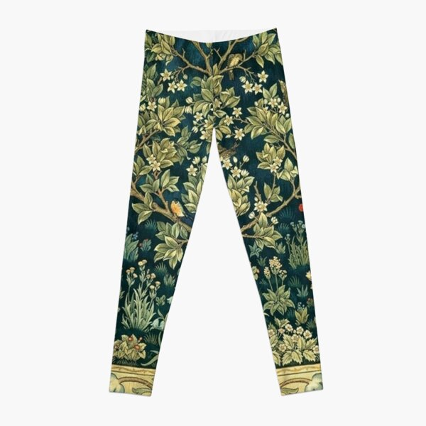Tree of Life by William Morris Leggings