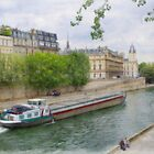 Riverboat on the Seine by Tom  Reynen