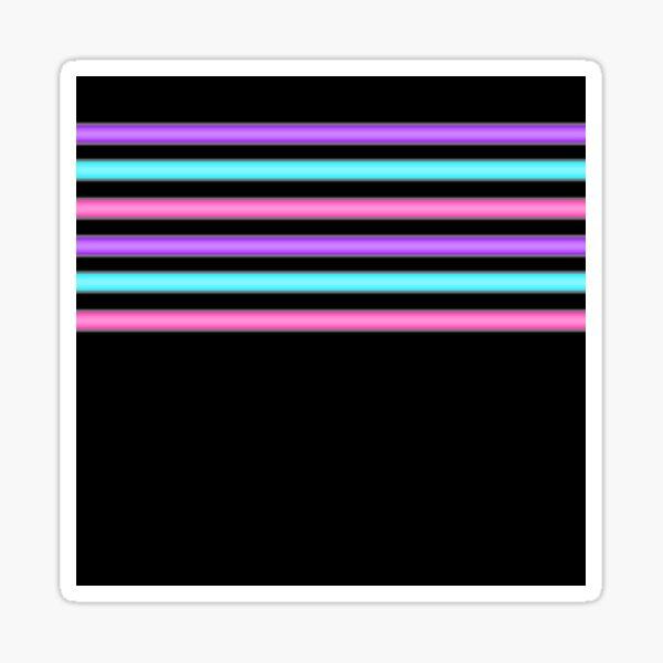 Black light Sticker