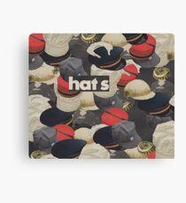HATS Canvas Print
