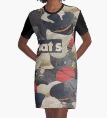 HATS Graphic T-Shirt Dress