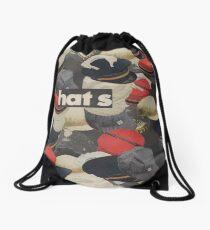 HATS Drawstring Bag