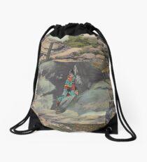 Caveman Drawstring Bag