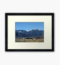 Fort Carson Army Base Framed Print