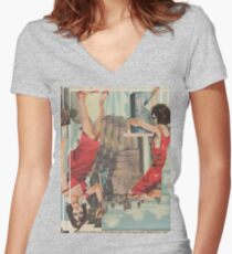 Mirage 2 Women's Fitted V-Neck T-Shirt