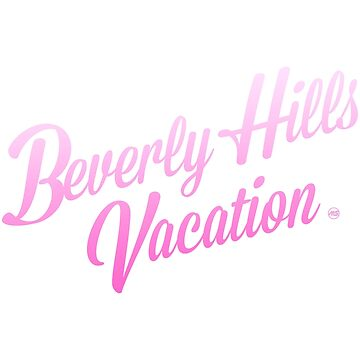 Beverly Hills Vacation PINK by MILESTYLES