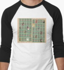 stampshash Men's Baseball ¾ T-Shirt