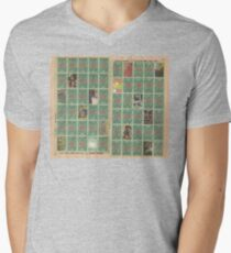 stampshash Men's V-Neck T-Shirt