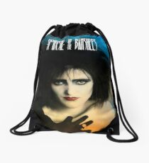 Siouxsie and the Banshees - Siouxsie Sioux The Ice Queen Drawstring Bag