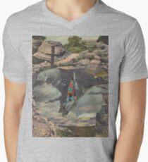 Caveman Men's V-Neck T-Shirt