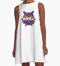 NBSEA - Nerdy Blowfish Space Exploration Agency A-Line Dress