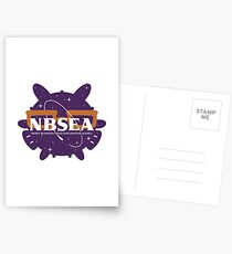 NBSEA - Nerdy Blowfish Space Exploration Agency Postcards