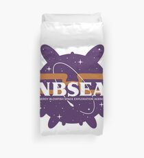 NBSEA - Nerdy Blowfish Space Exploration Agency Duvet Cover
